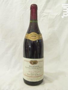 Bourgogne Hautes Côtes de Nuits - Domaine Bouhey - 1999 - Rouge