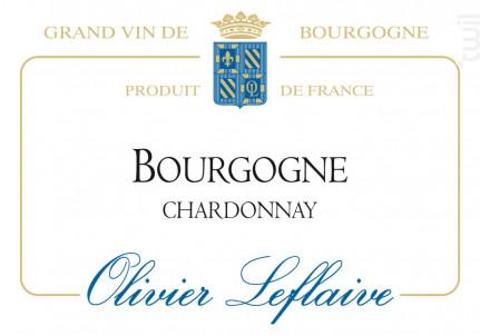 Bourgogne Chardonnay - Maison Olivier Leflaive - 2015 - Blanc