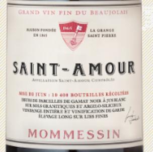 Grande Mise - Mommessin - 2015 - Rouge
