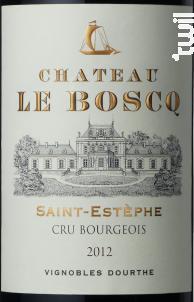 Château le Boscq - Vignobles Dourthe- Château le Boscq - 2013 - Rouge