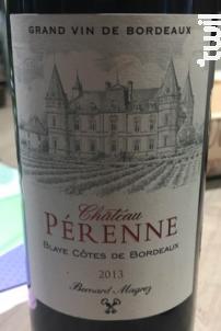 Château Pérenne - Château Pérenne - 2013 - Rouge