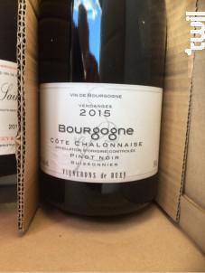 Bourgogne Côte Chalonnaise Pinot Noir - Vignerons de Buxy - 2019 - Rouge