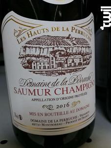 Saumur-Champigny - Domaine de la Perruche - 2016 - Rouge