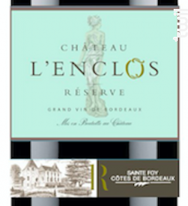 Château l'Enclos Réserve - Château L'Enclos - 2018 - Rouge