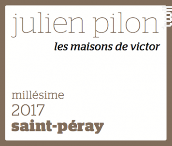 Les Maisons de Victor - Domaine Julien Pilon - 2018 - Blanc