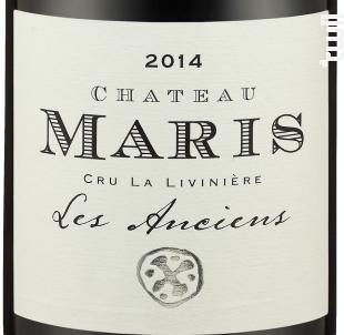 Les Anciens - Château Maris - 2014 - Rouge