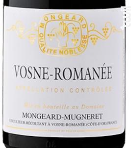 Vosne-Romanée - Domaine Mongeard-Mugneret - 2018 - Rouge