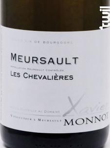 Meursault Les Chevalières - Domaine Xavier Monnot - 2016 - Blanc