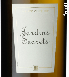 Jardins Secrets Brut 00 - SAUVION - CHATEAU DU CLERAY - 2017 - Blanc