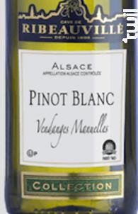 Vins Casher Pinot Blanc - Cave de Ribeauvillé - 2019 - Blanc