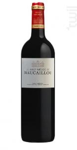 Le Haut-Médoc de Maucaillou - Château Maucaillou - 2017 - Rouge