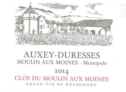 Auxey-Duresses Moulin aux Moines Monopole - Clos du Moulin aux Moines - 2001 - Blanc