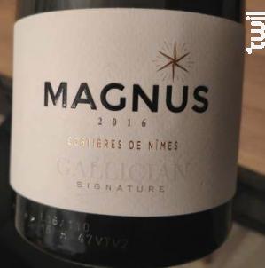 MAGNUS - La Cave de Gallician - 2016 - Rouge