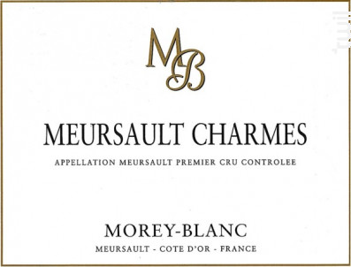 Meursault Premier Cru Les Charmes - Morey-Blanc - 2011 - Blanc