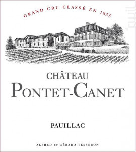 Château Pontet-Canet - Château Pontet-Canet - 2013 - Rouge