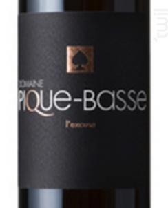 L'EXCUSE - DOMAINE PIQUE-BASSE - 2016 - Rouge