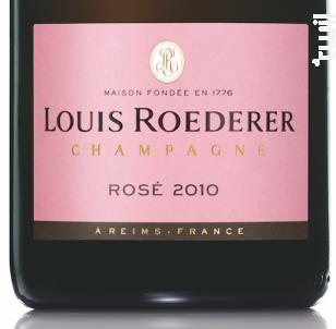 Rosé Brut Millésimé - Champagne Louis Roederer - 2010 - Effervescent