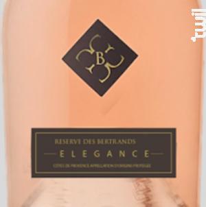 Réserve des Bertrands - Château de Berne - 2016 - Rosé