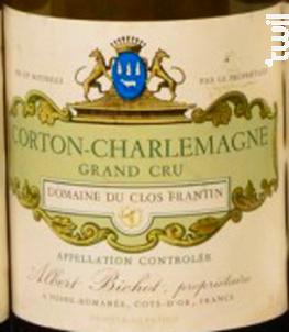 Corton Charlemagne Grand Cru - Domaine du Clos Frantin - Domaines Albert Bichot - 1995 - Blanc