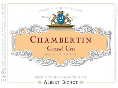 Chambertin Grand Cru - Albert Bichot - 2017 - Rouge