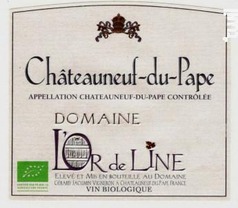 Cuvée l'Or de Line - Domaine l'Or de Line - 2013 - Rouge