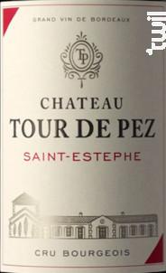 Château Tour de Pez - Château Tour de Pez - 2016 - Rouge