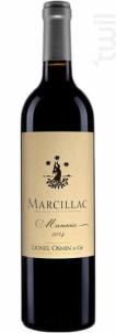 Marcillac Mansois - LIONEL OSMIN ET CIE - 2016 - Rouge