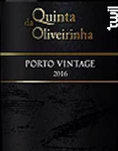 Porto Vintage 2016 - Quinta da Oliveirinha - 2016 - Rouge