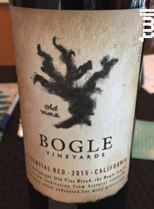 Essential Red - Bogle Vineyards - 2016 - Rouge