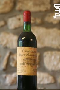 Château Haut Marbuzet - Château Haut-Marbuzet - 1980 - Rouge
