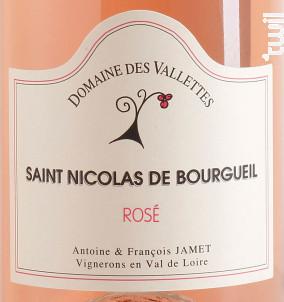 Domaine des Vallettes - Domaine des Vallettes - 2018 - Rosé
