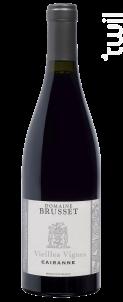 Cairanne Vieilles Vignes - Domaine Brusset - 2018 - Rouge
