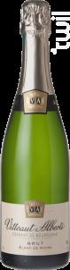 Cremant De Bourgogneblanc De Noirs Brut - Maison Vitteaut-Alberti - Non millésimé - Blanc