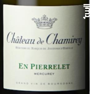 Mercurey En Pierrelet - Château de Chamirey - 2017 - Blanc