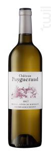 Château PUYGUERAUD - Château Puygueraud - 2015 - Blanc