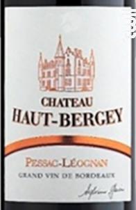 Château Haut-Bergey - Château Haut-Bergey - 2003 - Rouge