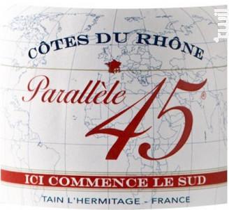 Parallèle 45 - Paul Jaboulet Aîné - 2016 - Blanc