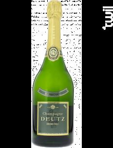 Demi-Sec - Champagne Deutz - Non millésimé - Effervescent