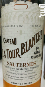 Château La Tour Blanche - Château La Tour Blanche - 2009 - Blanc