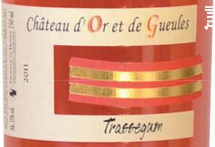 Trassegum - Château d'Or et de Gueules - 2017 - Rosé