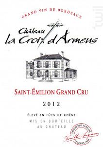 Château la Croix d'Armens - Château La Croix d'Armens - 2012 - Rouge