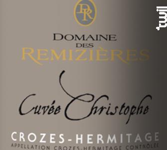 Cuvée Christophe - Domaine des Remizières - 2017 - Rouge