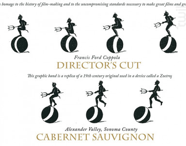 Director's cut - cabernet sauvignon - Francis Ford Coppola Winery - 2015 - Rouge
