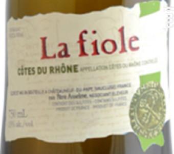 La Fiole Côtes du Rhône - Maison Brotte - La Fiole - 2018 - Blanc