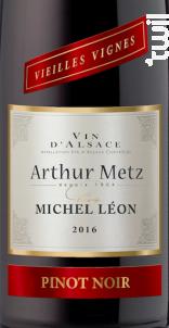 Cuvée Michel Léon Vieilles Vignes Pinot noir - Arthur METZ - 2016 - Rouge