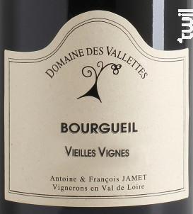 Vieilles Vignes - Domaine des Vallettes - 2018 - Rouge