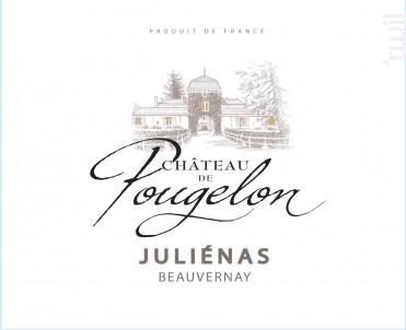 JULIENAS Château de Pougelon - Vins Descombe - 2018 - Rouge