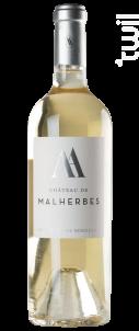 Château de Malherbes - Château de Malherbes - 2015 - Blanc