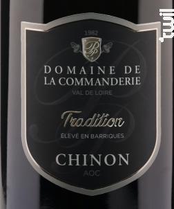 Cuvée Tradition - Domaine de La Commanderie - 2017 - Rouge