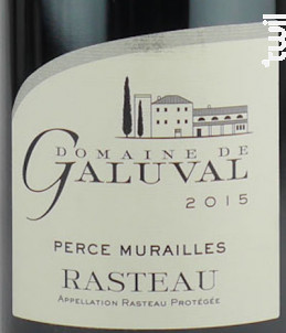 Perce Murailles - Galuval - 2015 - Rouge